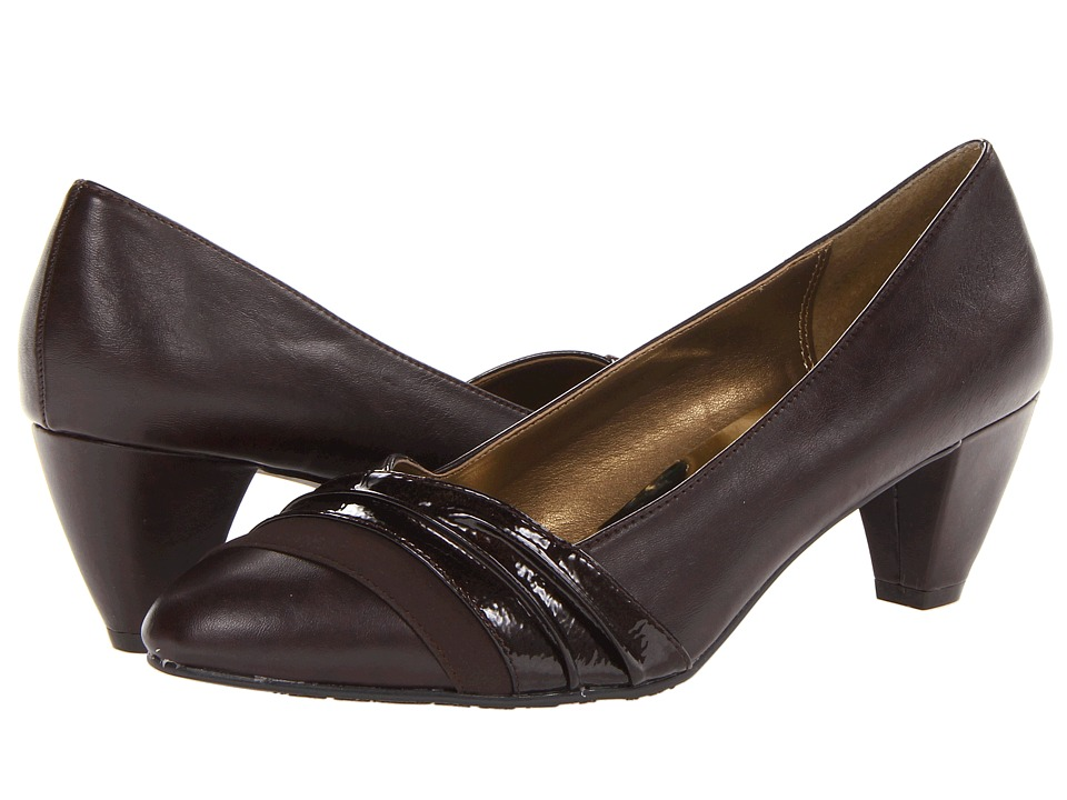 Soft Style Danette Dark Brown Womens 1 2 inch heel Shoes