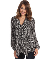 Anne Klein - Tribal Diamond L/S Blouse