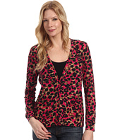 Anne Klein - Animal Print Cardigan