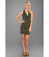 Michael Stars - Anoinette Island Stripe Halter Mini Dress