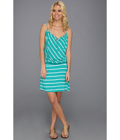 Michael Stars - Hampton Stripe Smocked Waist Cami Dress