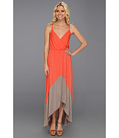 Michael Stars - Alba Colorblock High Low Maxi Dress