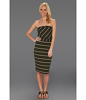 Michael Stars - Cleo Island Stripe Strapless Dress