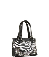 Nocona - Tooled/Animal Print Shoulder Bag