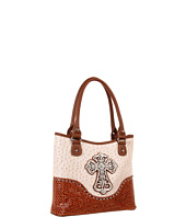 M&F Western - Ostrich Cross Shoulder Bag