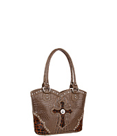 Nocona - Animal Print Cross Bucket Bag