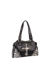 Nocona - Animal Print Cross Satchel