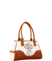 Nocona - Ostrich Cross Satchel