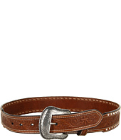 Nocona - Whipstitched Cross Embossed Belt