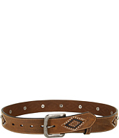 Nocona - Diamond Underlay Studded Belt