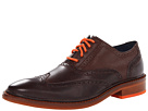 Cole Haan - Colton Winter Wing Ox (Chestnut/Chestnut Grain/Corporate Orange) - Footwear