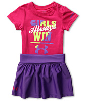 Under Armour Kids - Girls Always Win Tee Set (Newborn)