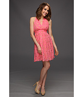 Nicole Miller - Mara Crinkle Lurex Dress