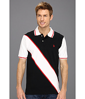 U.S. POLO ASSN. - Solid Polo with Contrast Color Piecing