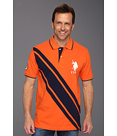 U.S. Polo Assn - Colorblock Solid Pique Polo