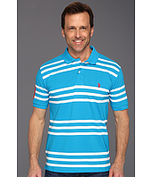 U.S. POLO ASSN. - Striped Polo with Small Pony