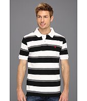 U.S. Polo Assn - Yarn Dyed Striped Pique Polo