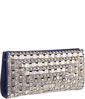 BCBGMAXAZRIA - Leila Canvas Zip Pouch With Beading