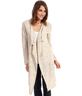 Jones New York - Long Sleeve Long Drape Cardigan