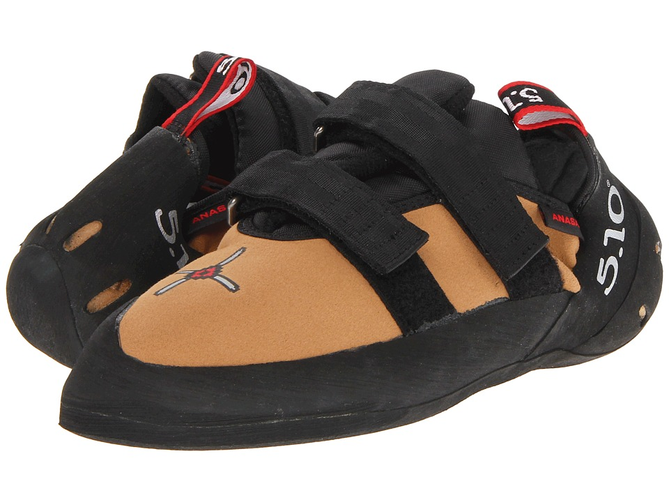 Five Ten Anasazi VCS Golden Tan Mens Climbing Shoes