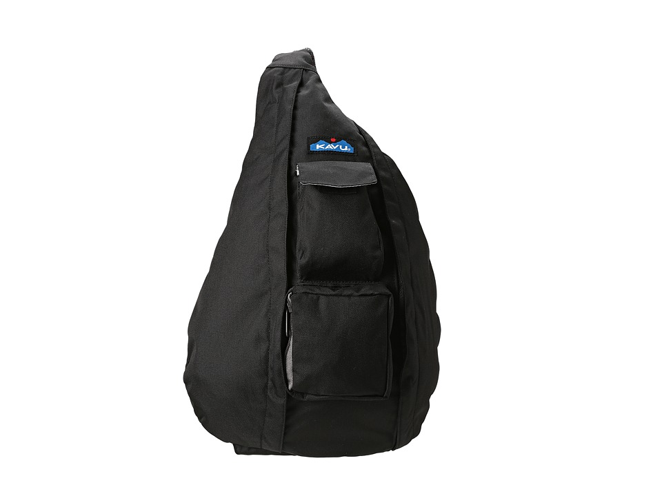 KAVU Rope Sling Black Backpack Bags