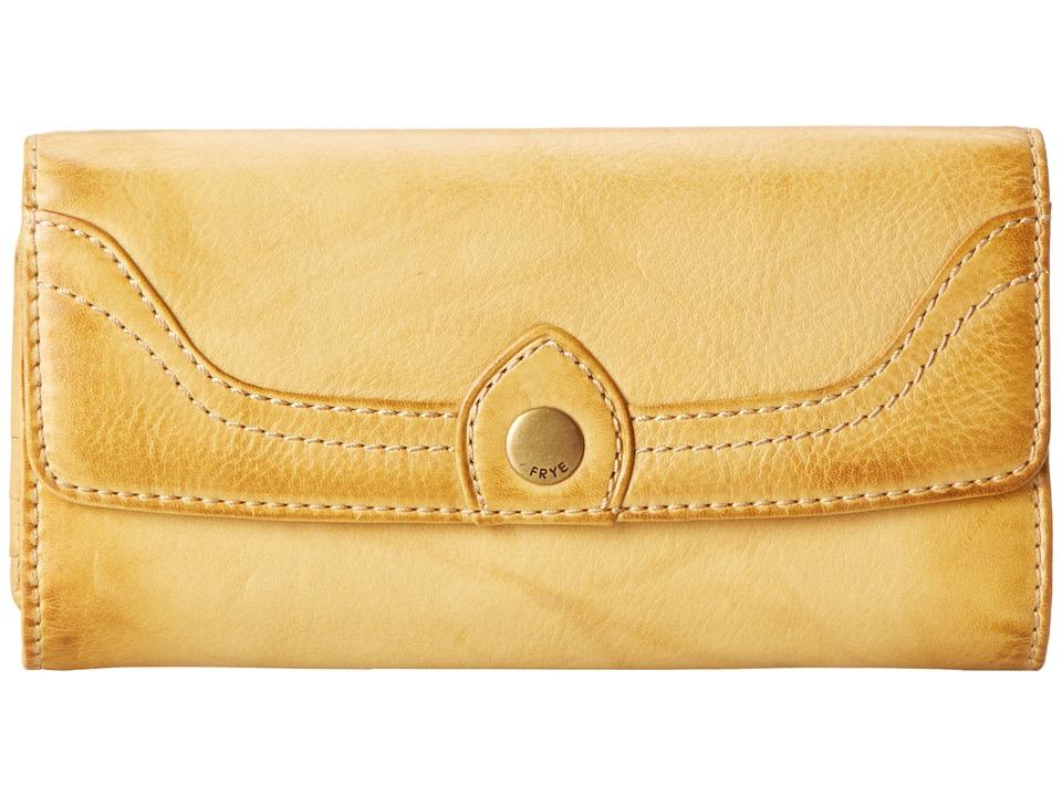 Frye - Campus Large Wallet (Banana Dakota) Wallet Handbags