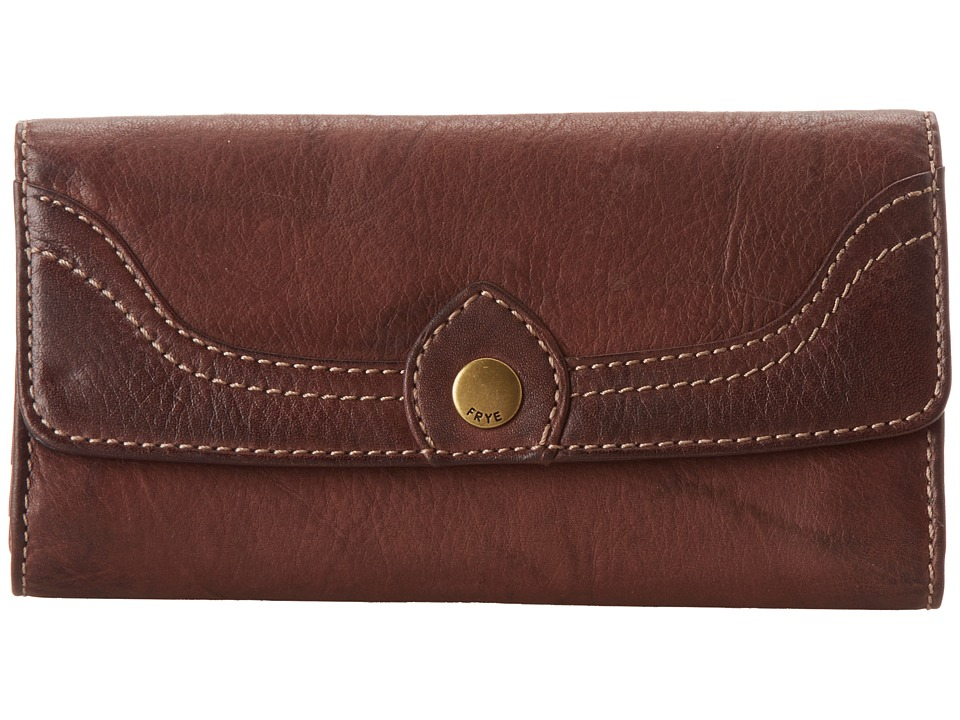 Frye - Campus Large Wallet (Walnut Dakota) Wallet Handbags