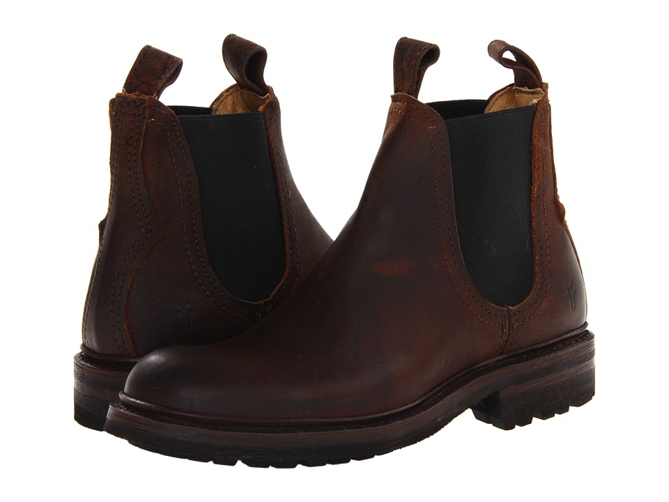 Frye - Freemont Chelsea (WhiskeyTextured Full Grain) Men