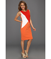 Calvin Klein - Sleeveless Colorblock Sheath