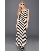 Calvin Klein - Rayon Sleeveless Blouson Maxi Dress