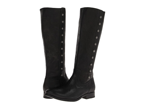 Shop Frye online and buy Frye Melissa Military Tall Black Antique Soft