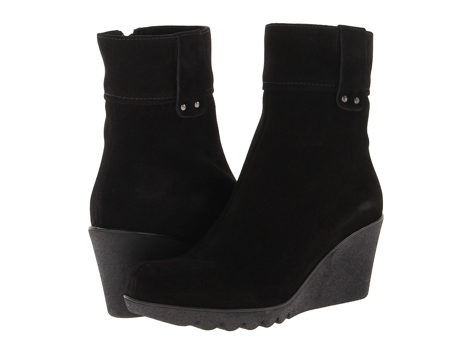 La Canadienne - Becket (Black Suede) Women