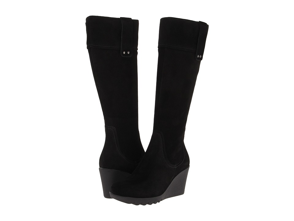 La Canadienne - Berkley (Black Suede) Women