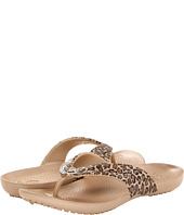 Crocs - Kadee Leopard Print Flip Flop