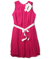 Us Angels - Chiffon Dress With Pleat Skirt (Big Kids)