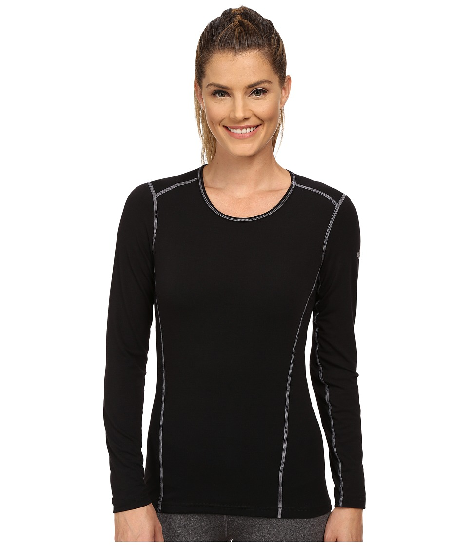 Hot Chillys Mtf 4000 Scoop Top Black Womens Long Sleeve Pullover