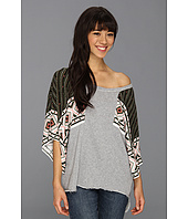 Free People - Festival Mixed Media Sweatshirt