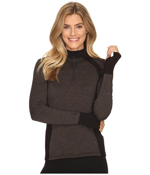 Hot Chillys Wool 8k Zip - Black/Black