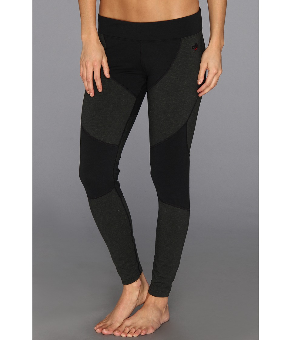 Hot Chillys Wool 8K Tight Black/Black Womens Clothing