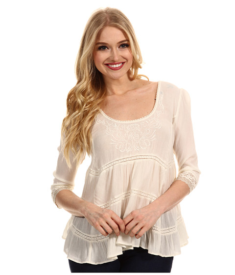 Free People - Novella Top (Ivory) - Apparel