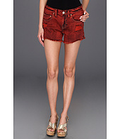 Free People - Overdyed Denim Cutoff Short