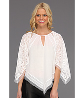 BCBGMAXAZRIA - Elyza Lace-Blocked Top