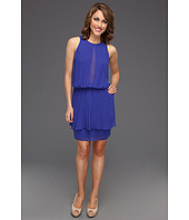Nicole Miller - Viscose High Neck Dress