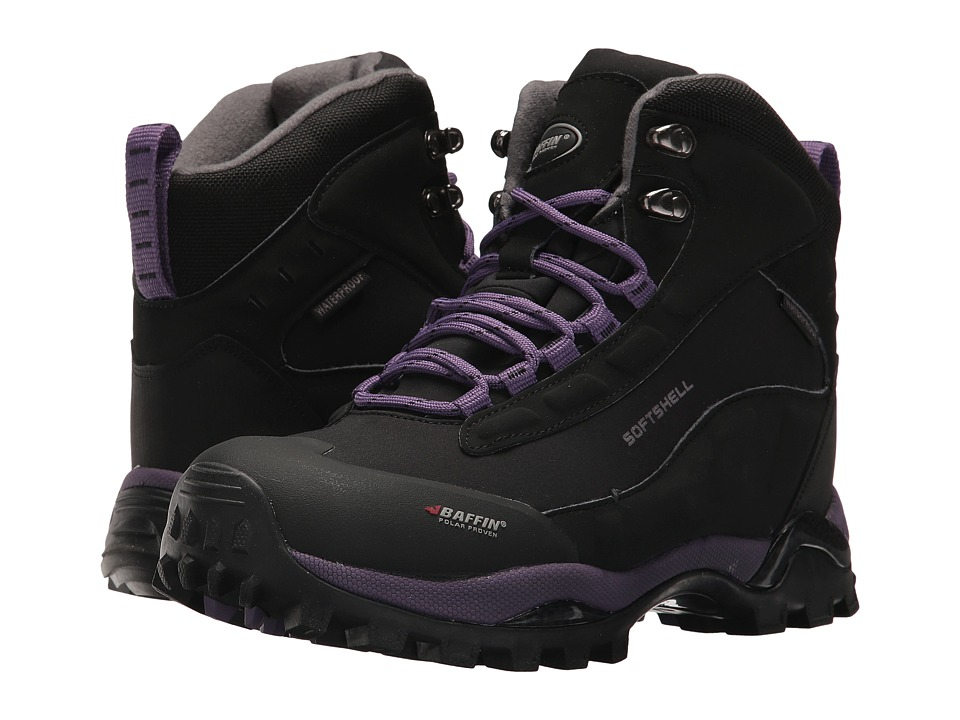 Baffin - Hike (Black/Plum) Womens Cold Weather Boots