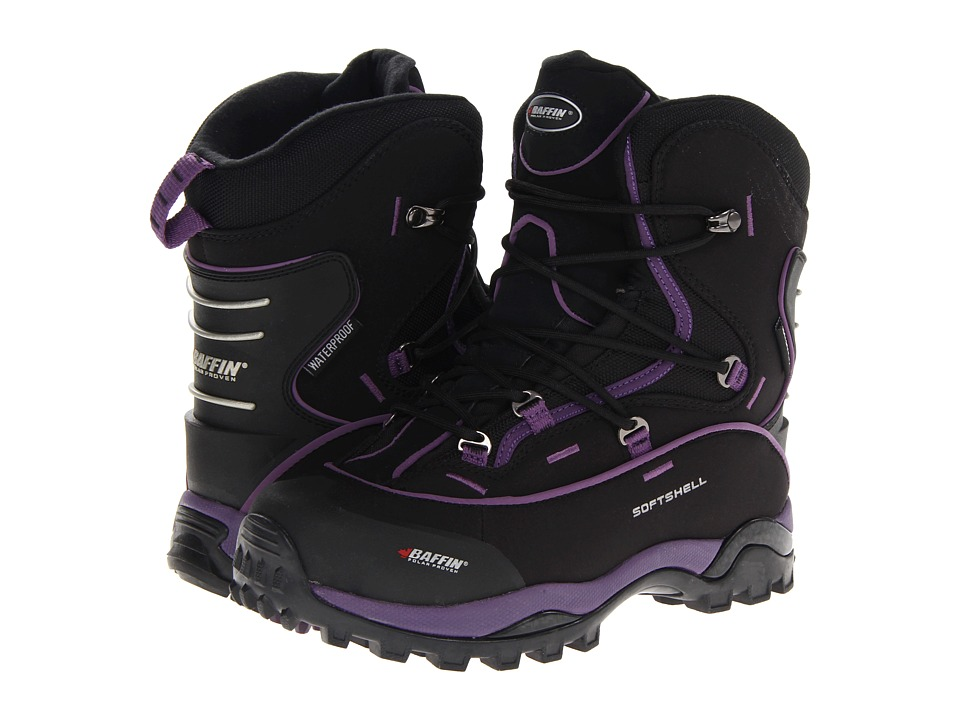 Baffin Snosport (Black/Plum) Women
