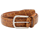 Cole Haan - Croc Embossed Belt (British Tan Croc Print)