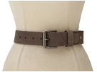 Cole Haan - Jeans Belt (Dark Gull Grey) - Apparel