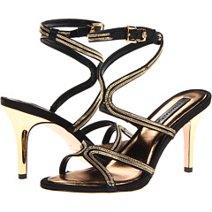 Primp (Black Satin) High Heels
