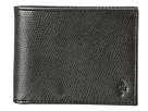 Cole Haan - Greenwich Billfold Wallet (Black Grain) - Bags and Luggage
