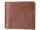 Cole Haan - Greenwich ID DBL Billfold Wallet (Woodbury Grain) - Bags and Luggage